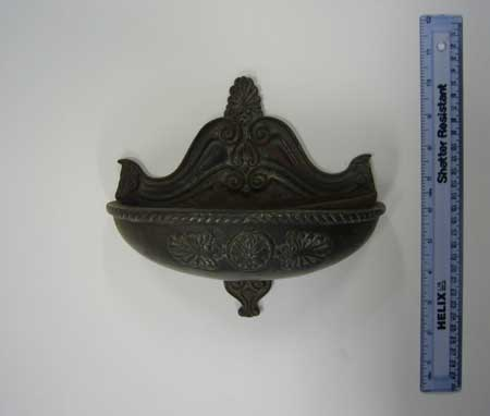 Cast-iron ashtray from Old Abbey Theatre