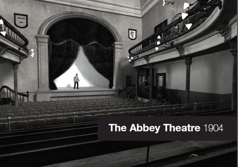 Abbey Theatre, 1904 Project Commemorative Postcard