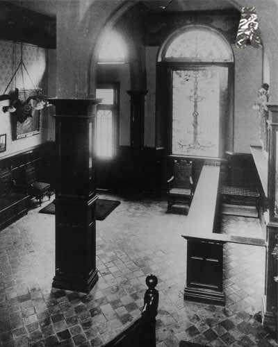 Vestibule of the Old Abbey Theatre c.1904
