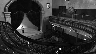 Digital model of the old Abbey Theatre